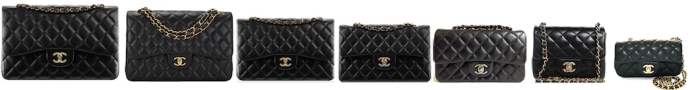Chanel sac classic timeless all sizes