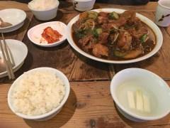Plat poulet riz Seoul