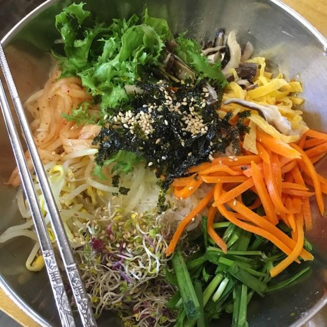 Bibimbap : the Korean food superstar dish