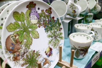 Assiettes et mug totoro Kiddy Land