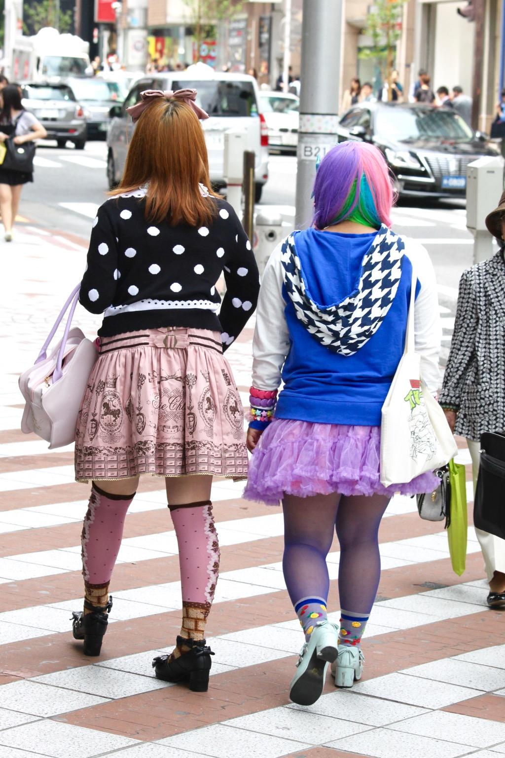 Japonaises fashion Tokyo