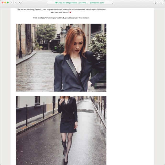blog mode smoking dress zelda