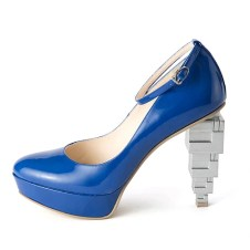 Escarpins Manga blue