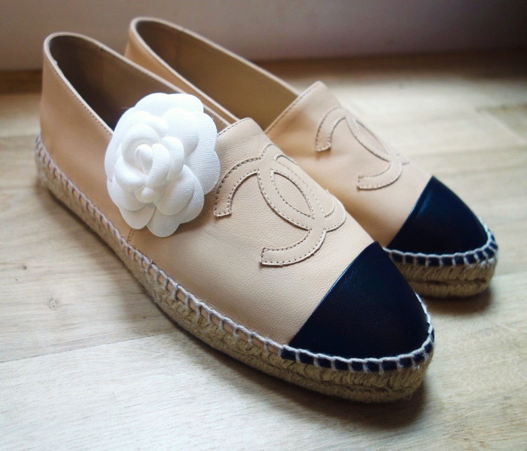 Look - So chanel many espadrilles fall winter sale video