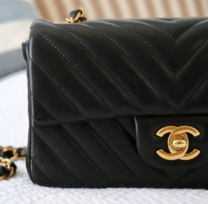 Sac Chanel Mini Classique fermoir double C