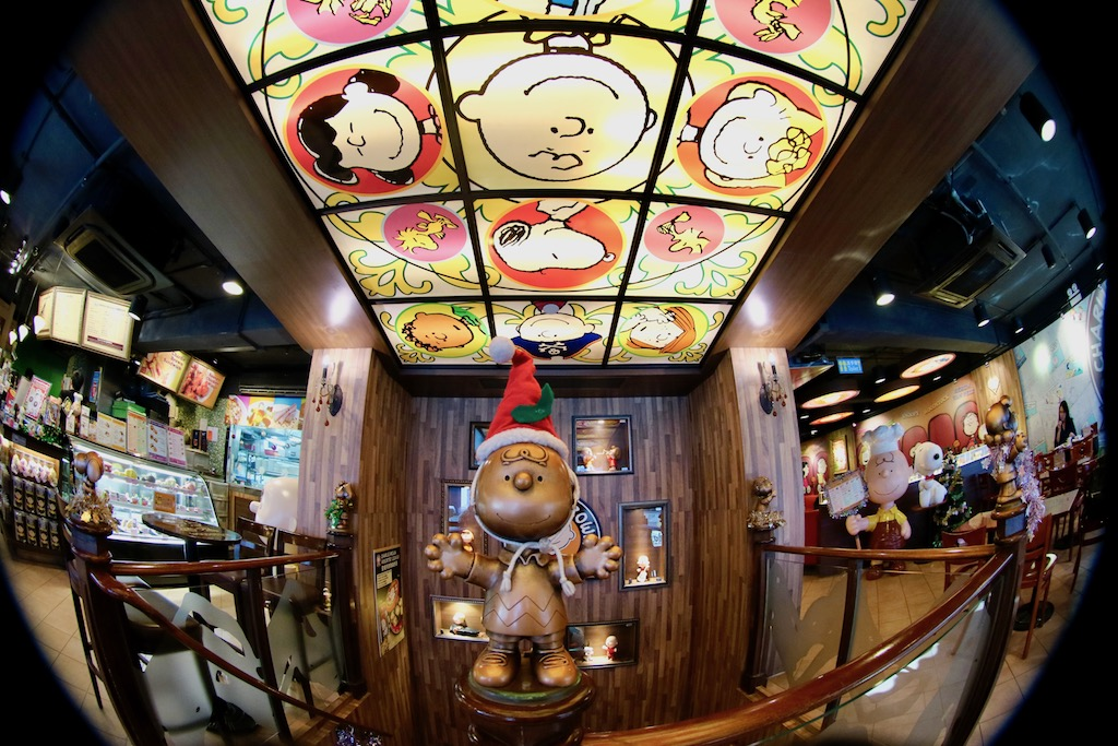 Charlie Brown Cafe HongKong