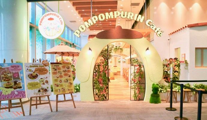 pompompurin cafe orchard road
