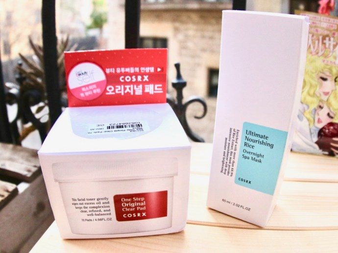 cosrx cosmetiques coreennes