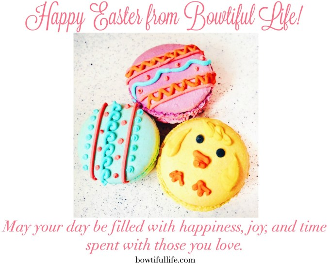 Bowtiful Life Easter Macarons