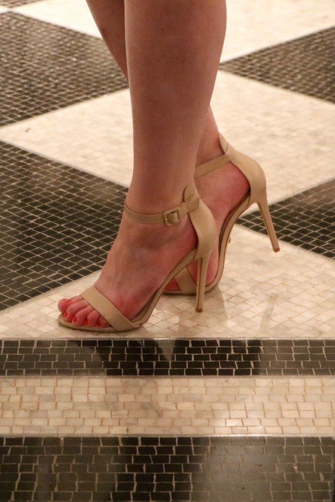 Waldorf Astoria New York Silver Corridor Bowtiful Life Topshop Heels