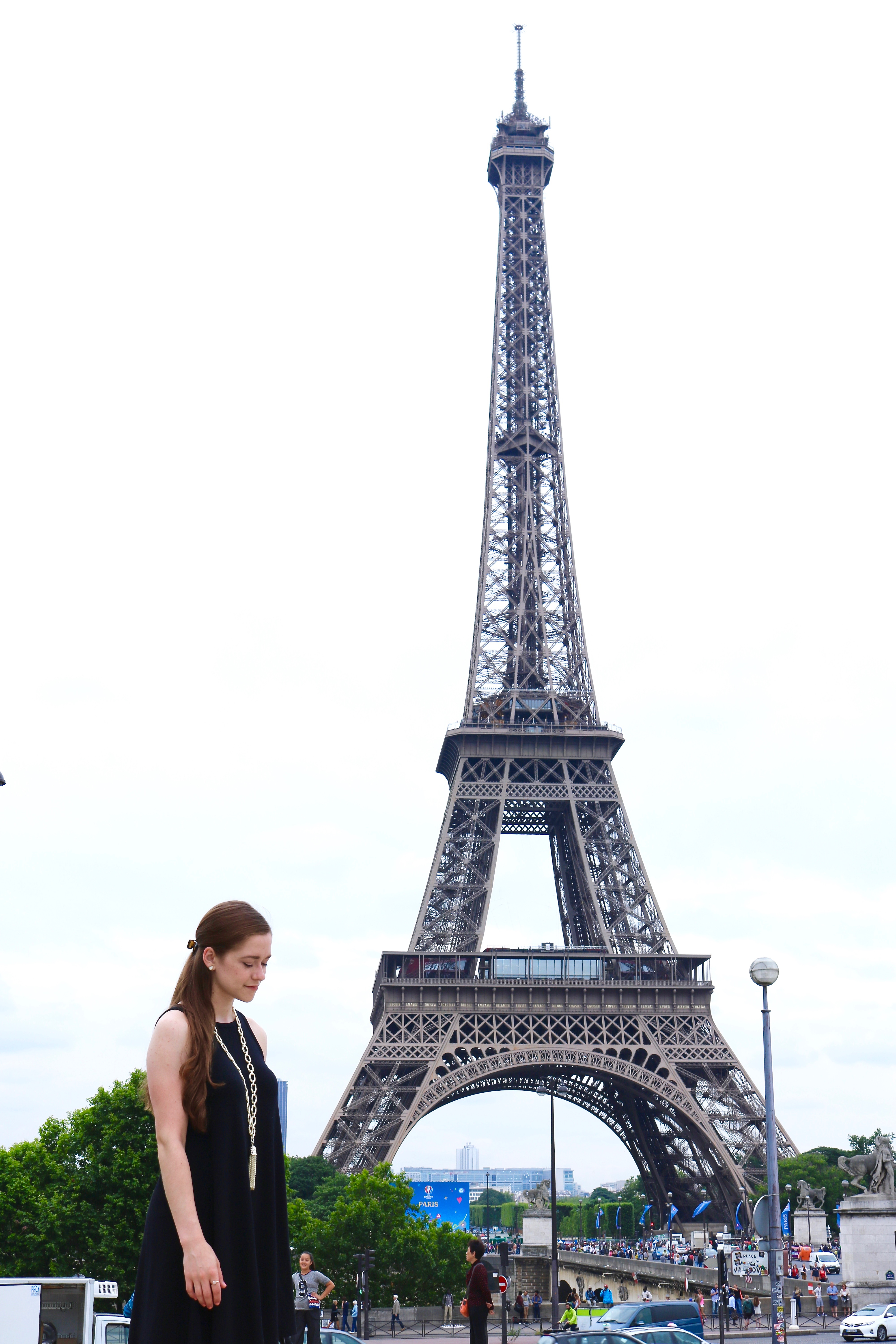 Paris Eiffel Tower 2016 Outfit | Bowtiful Life 1