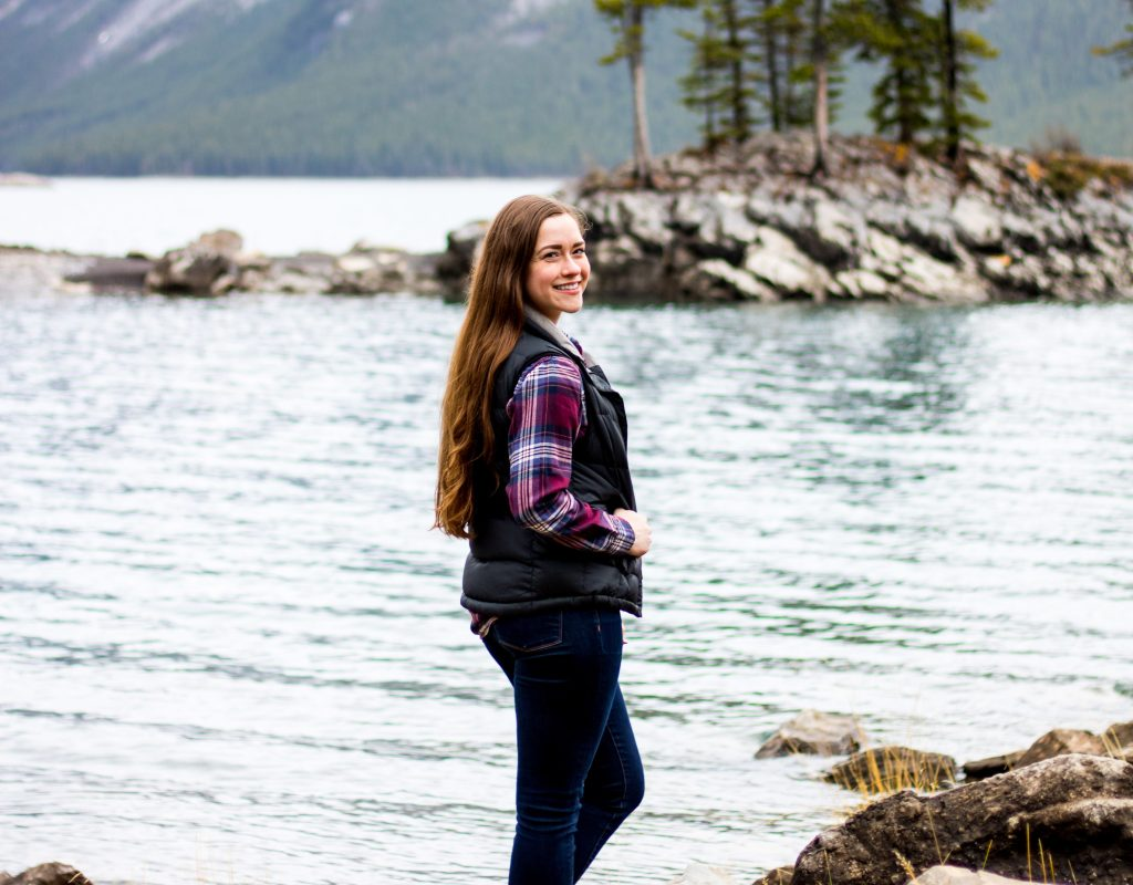 Bean Boots & Flannel at Lake Minnewanka