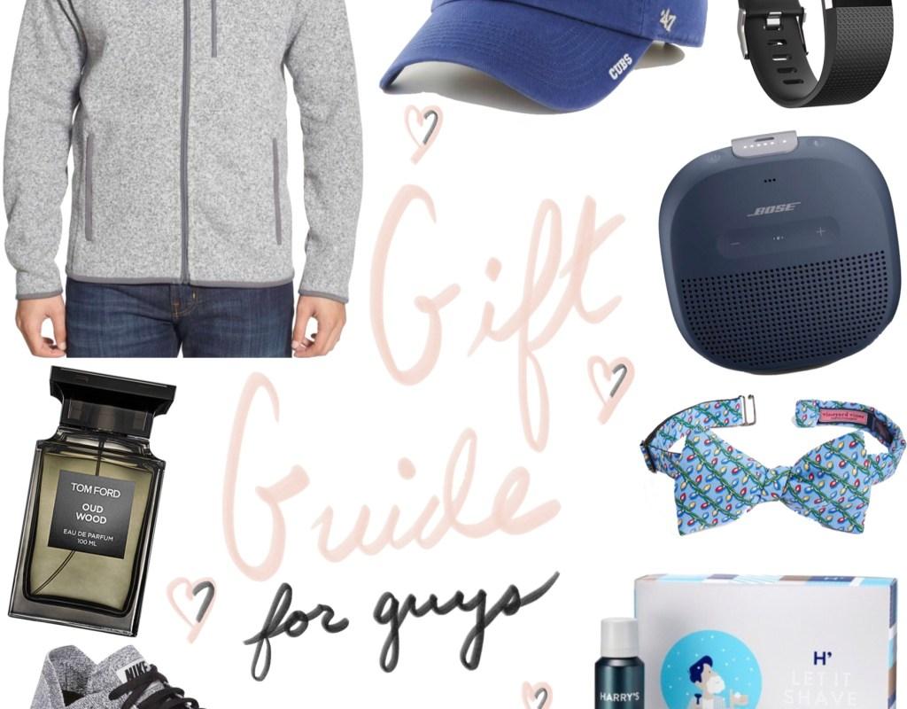Gift Guide: for Guys