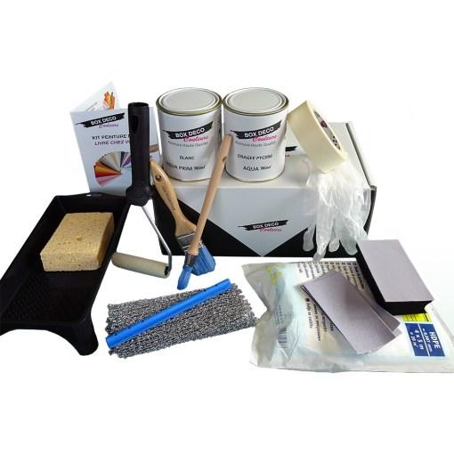 kit peinture metal box