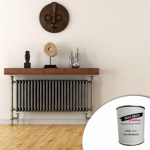 Peinture radiateur aspect satin 750ml