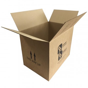Double Wall cardboard Box  18x13x13    Boxed Up Double Wall Cardboard Boxes   Printed   18x13x13   457mm x 330mm x 330mm