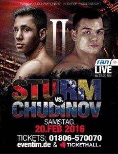 Sturm vs. Chudinov II