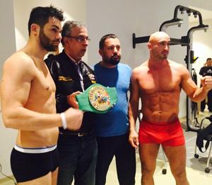Avni Yildirim boxt gegen George Beroshvili