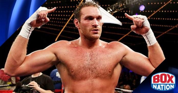 1 WBO Herausforderer Tyson Fury