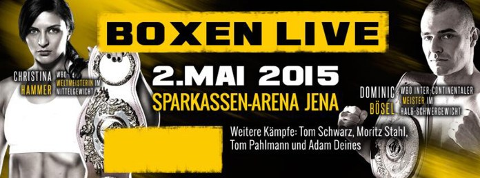 SES-Box-Gala, am Samstag, 2. Mai 2015, Sparkassen-Arena, Jena