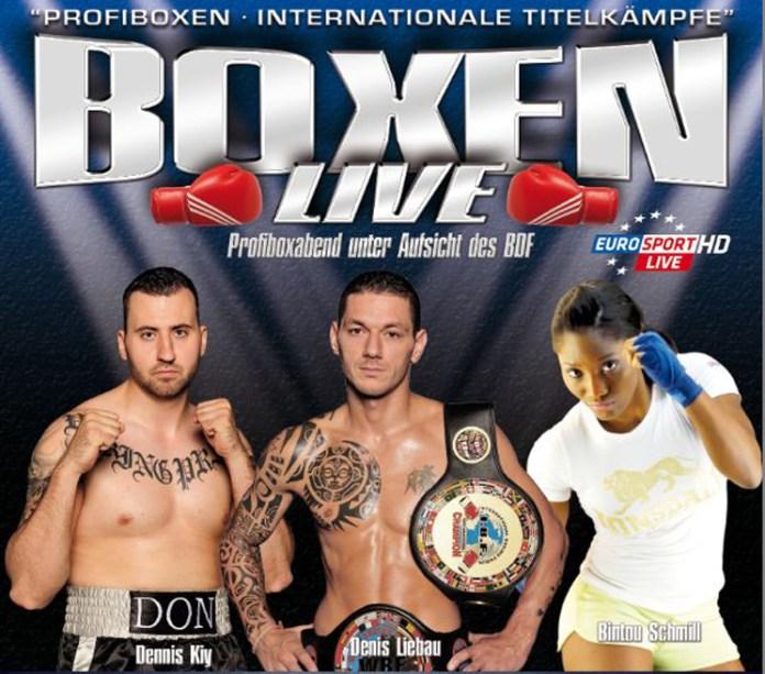 Profiboxabend Live auf Eurosport am 10.April in Bad Vilbel / Dortelweil