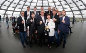 """""""Team Deutschland"""" von SES Boxing besuchten gestern auf Einladung das Parlament und die Bundestagsabgeordnete Marina Kermer (Sachsen-Anhalt)"""