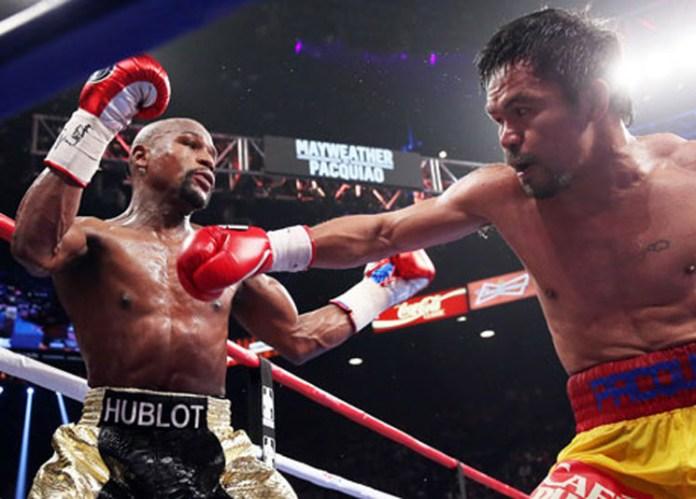 Mayweather gegen Pacquiao