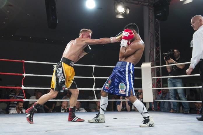 Boxkampf - Rico Müller gegen Rey Labao