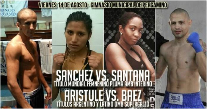 Dahiana Santana gegen Anahi Esther Sanchez