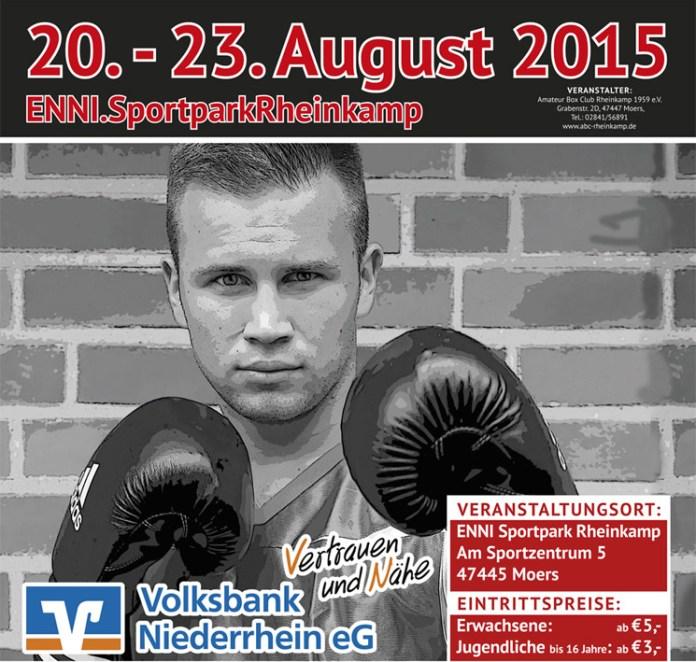 Boxen U21 Meisterschaft 2015