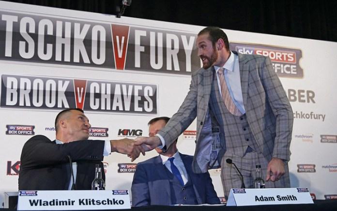 Pressekonferenz Klitschko vs. Fury