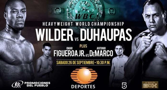 Deontay Wilder gegen Johann Duhaupas