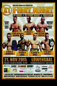 Löwensaal 21. November - K1 Fight Club Nürnberg