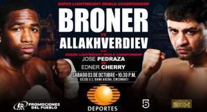 Adrien Broner gegen Khabib Allakhverdiev