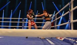 Aniya Seki vs. Caroline Schröder / Foto: Heiko Schmitt