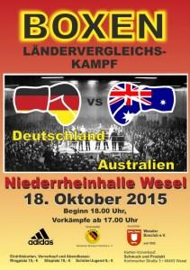 Deutschland vs. Australien in Wesel