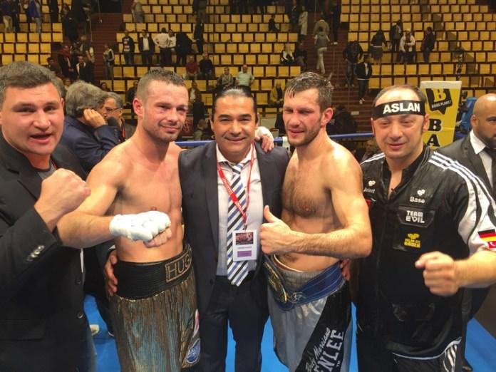 Igor Mikhalkin gegen Hugo Kaspersky / Foto: EC Boxing