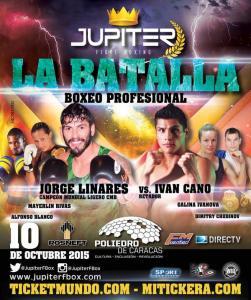 Jorge Linares gegen Ivan Cano
