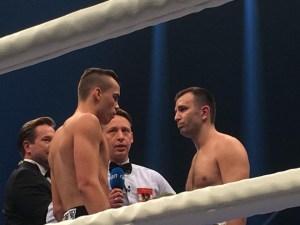 Leon Bauer gegen Aleksandar Jankovic / Foto: Heiko Schmitt
