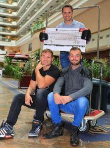 Dominic Bösel, Tom Schwarz und Daniel Kemp / Foto: Team SES / P. Gercke