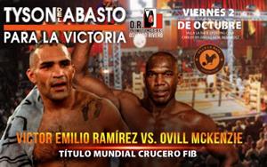 Victor Emilio Ramirez vs. Ovill McKenzie
