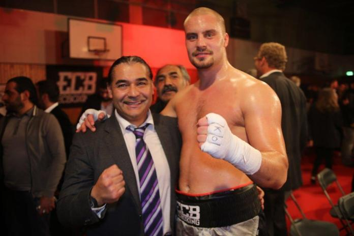 Erol Ceylan und Adrian Granat / Foto: EC Boxing