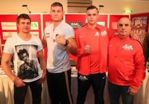 Dirk Dzemski, Tom Schwarz, Ilja Mezencev und Leonid Kiselev / Foto: SES Team