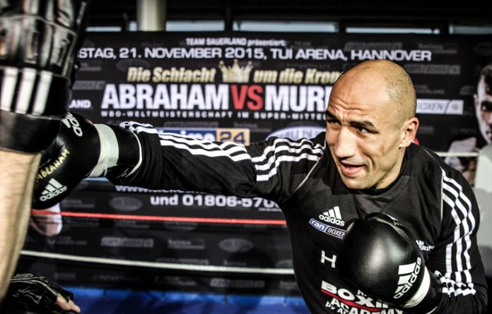 Pressetraining Arthur Abraham vs. Martin Murray / Foto: Sebastian Heger