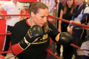 Ramona Kühne-Offentliche Training / Foto: SES Team-P. Gercke