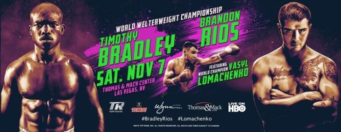 Timothy Bradley Jr gegen Brandon Rios