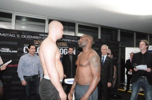 Adrian Granat und Michael Sprott / Foto: EC Boxing