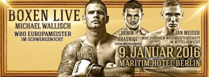 Am 9. Januar starten SES Boxing und Pollex Box-Promotion