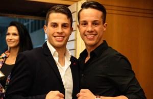 James und Toni Kraft / Foto: Petko´s LMS Boxpromotion