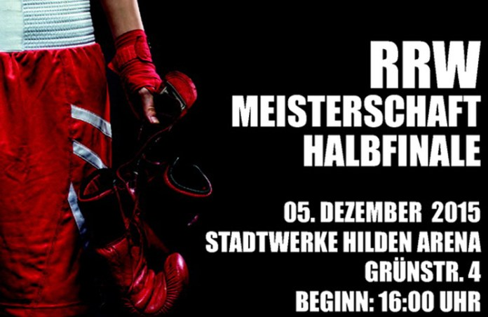 Plakat Boxring Hilden